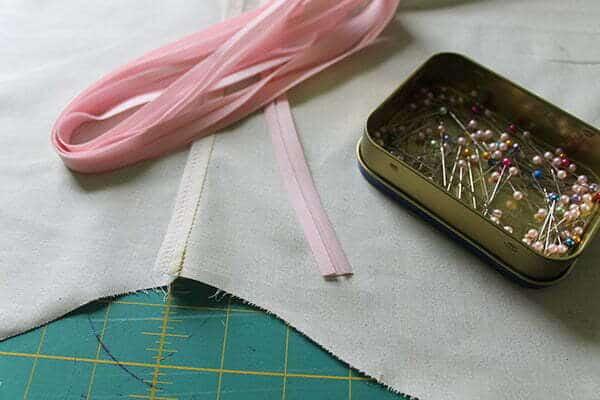 Bias tape sewing