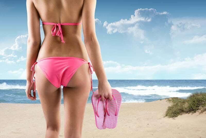 Bikini type panty