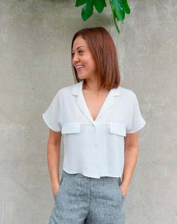 Button up shirt sewing pattern