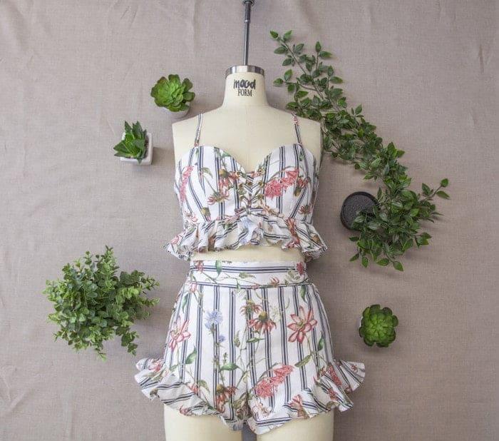 Crop top sewing patterns