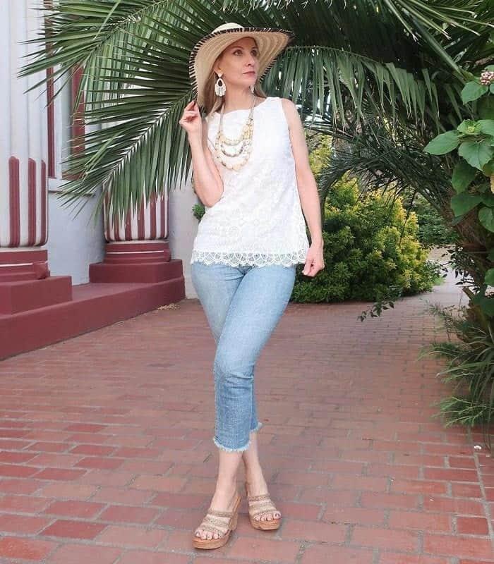 Dawn capri jeans
