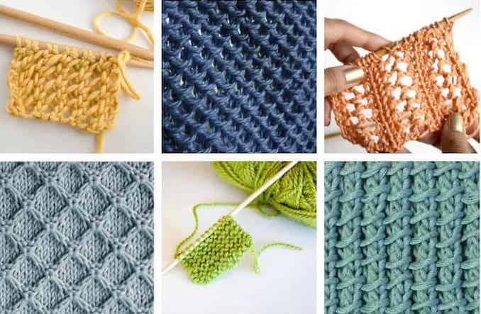 Easy knitting stitches