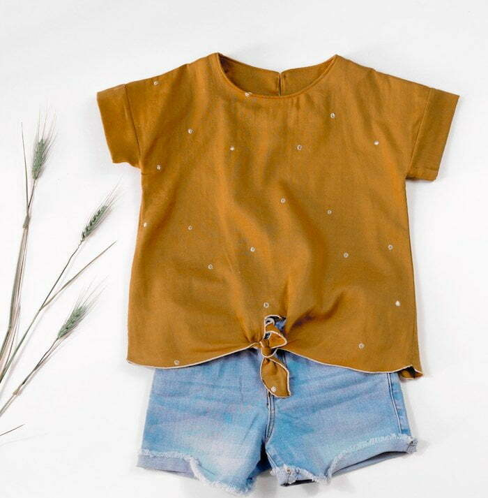 Easy sewing patterns for children clothes