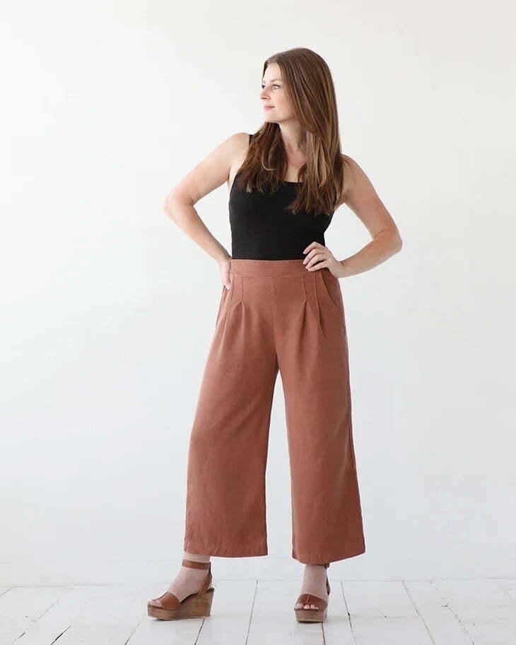 Emerson crop pants