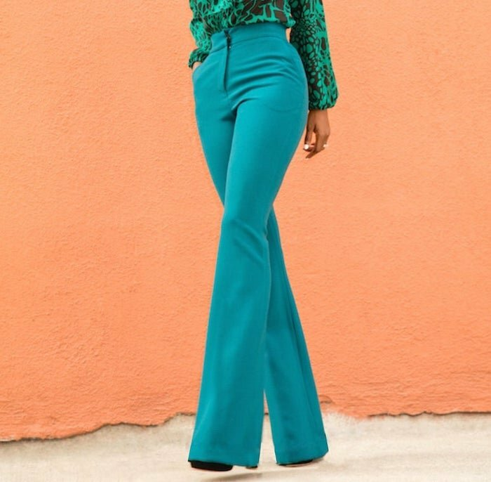 Flared pants sewing pattern