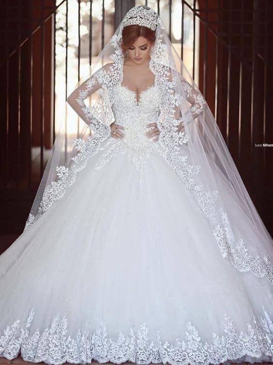 Glamorous ball gown