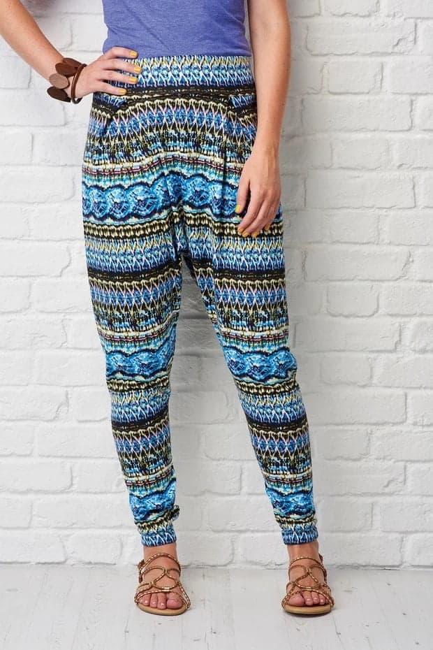 Harem trousers pattern