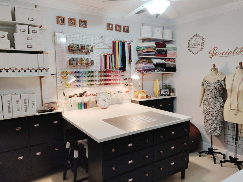 How to create a fabulous sewing room