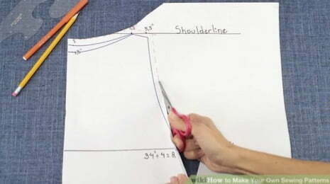 How to self draft a sewing pattern