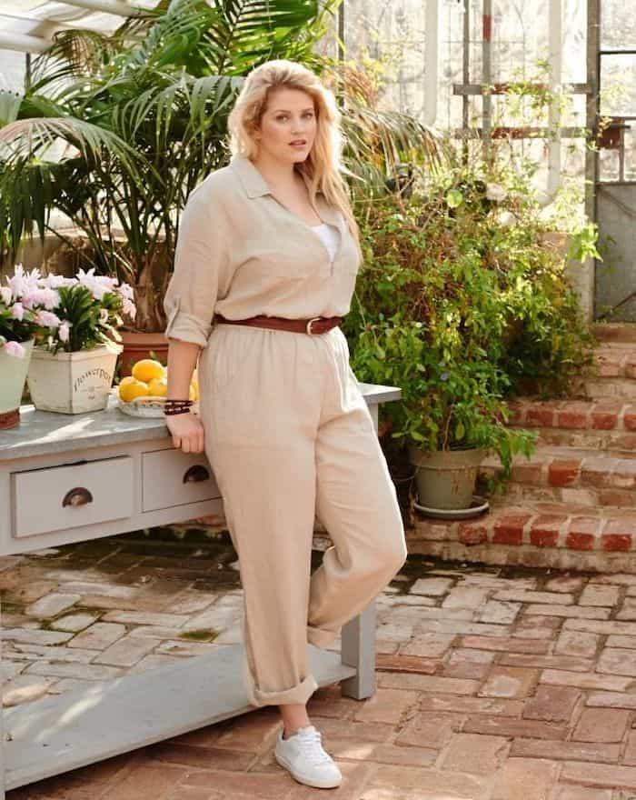 Linen jumpsuit pattern
