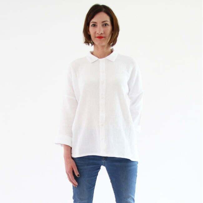 Long sleeve shirt sewing pattern