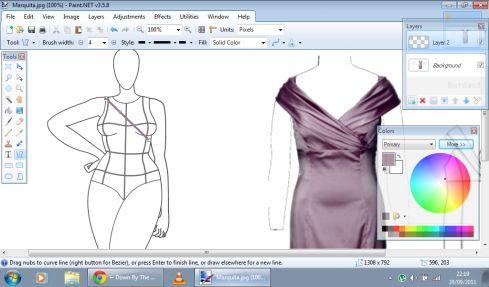 Pattern sewing making tutorial
