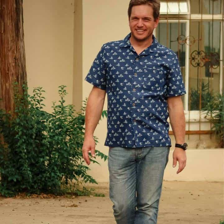 Pdf sewing pattern tropical shirt
