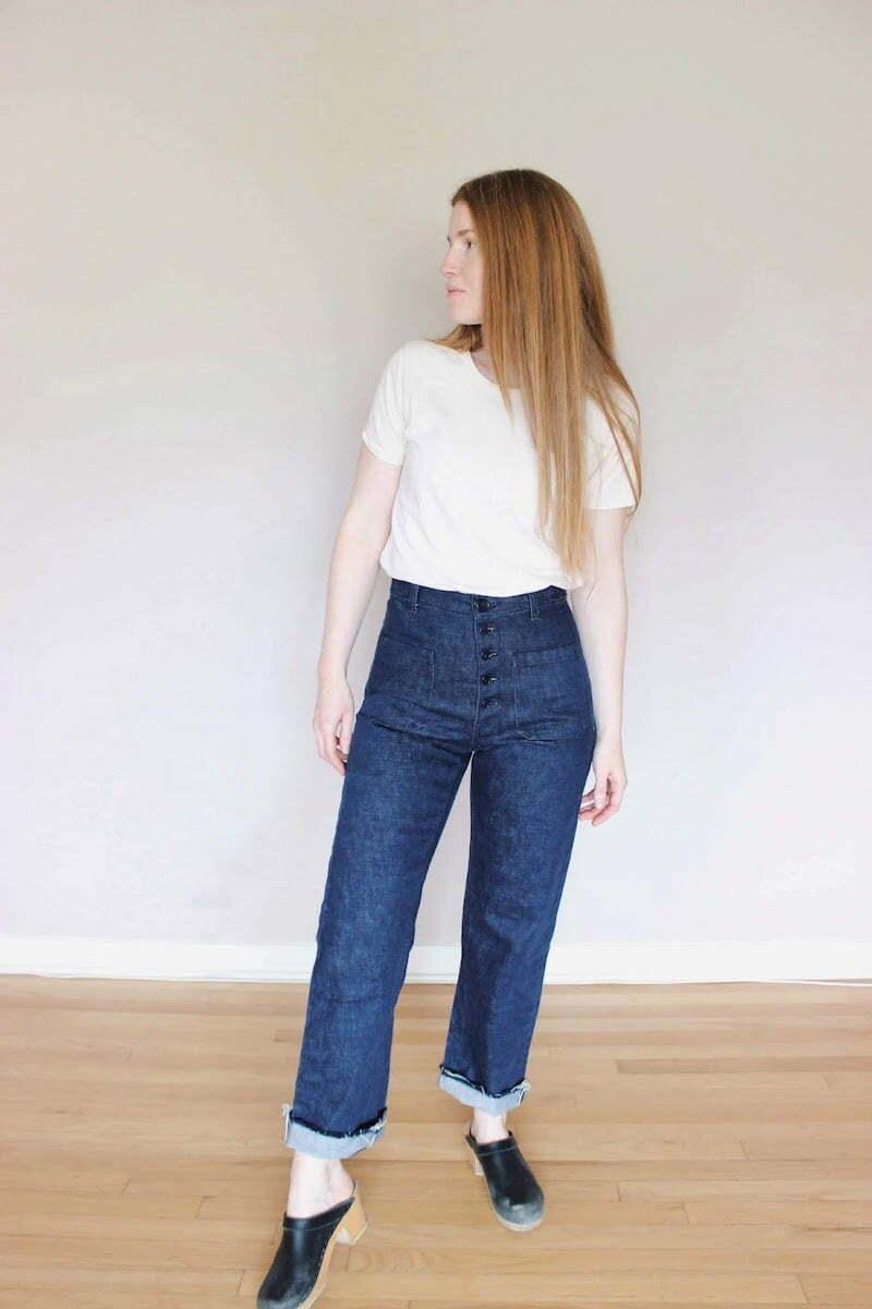 Philippa sailor jeans