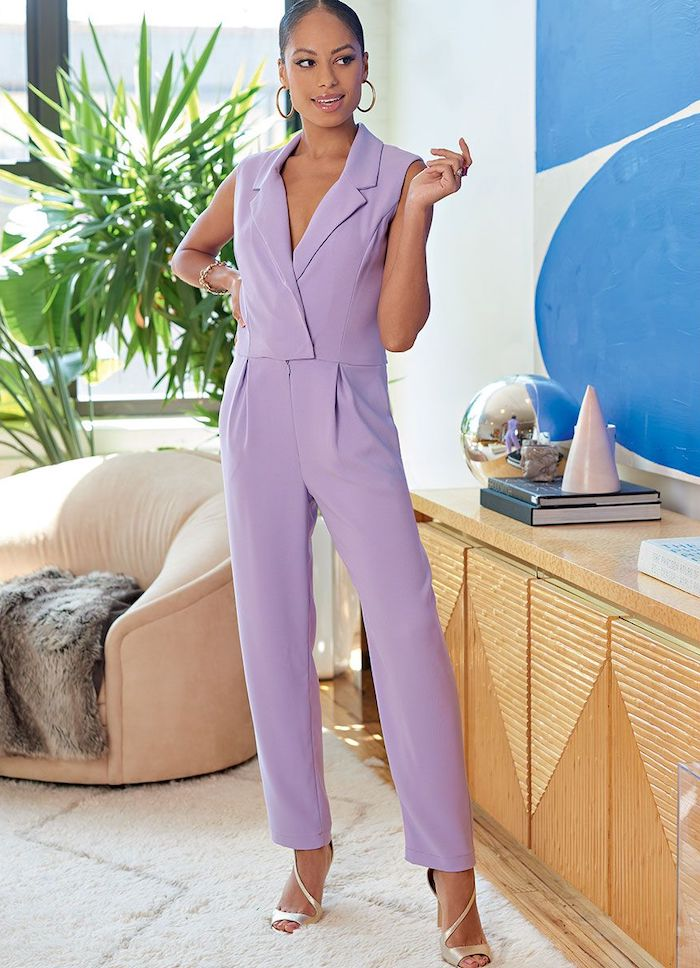 Playsuit sewing pattern