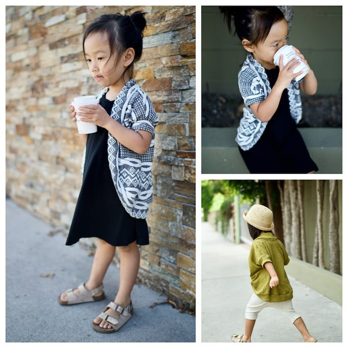 Sewing patterns for children