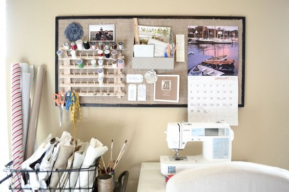 Sewing room layout ideas