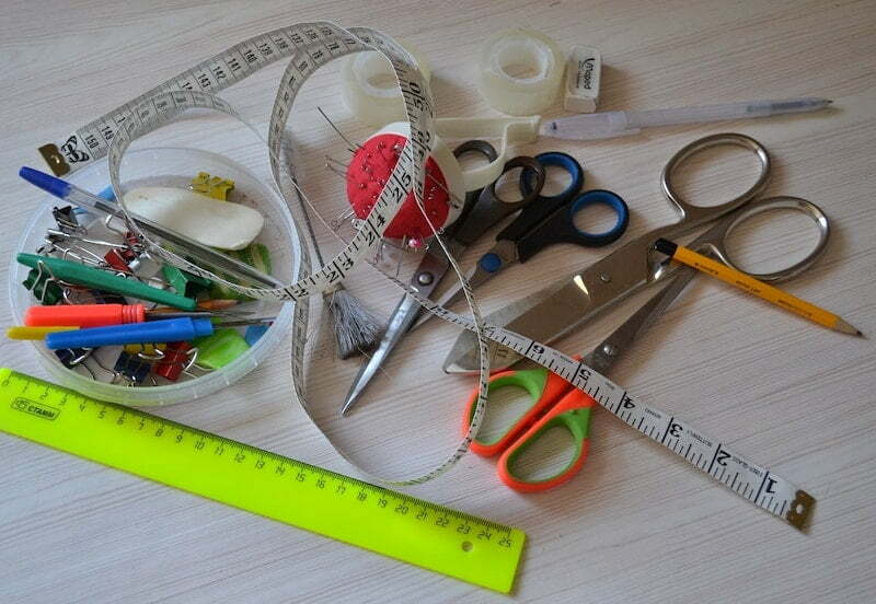 Sewing tools and equipment for beginners