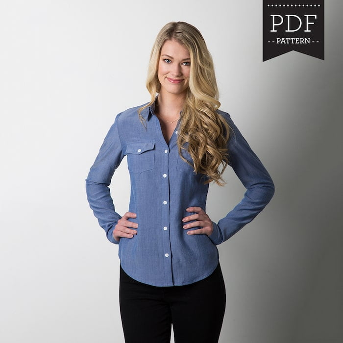 Shirt sewing patterns