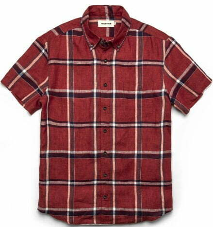 Tartan short sleeve shirt
