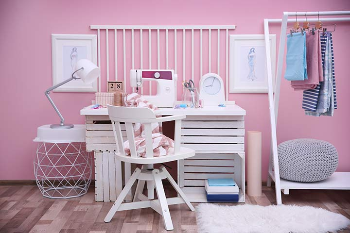 The sewing room color