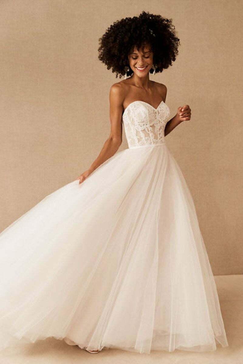 Types of bridal dresses