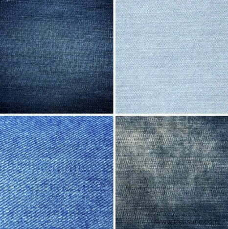 Types of jean fabric