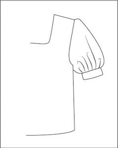 Types of puffy sleeves