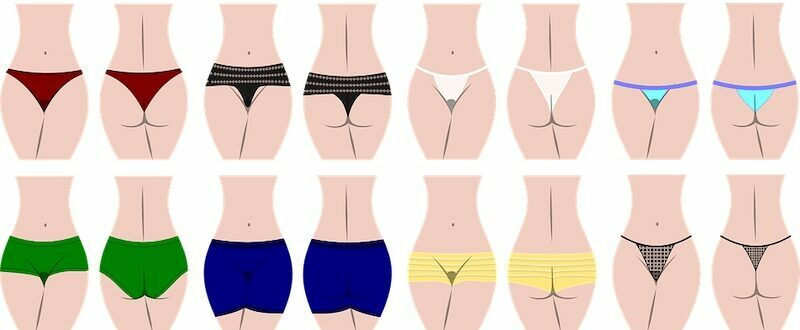 Types of underwear for women