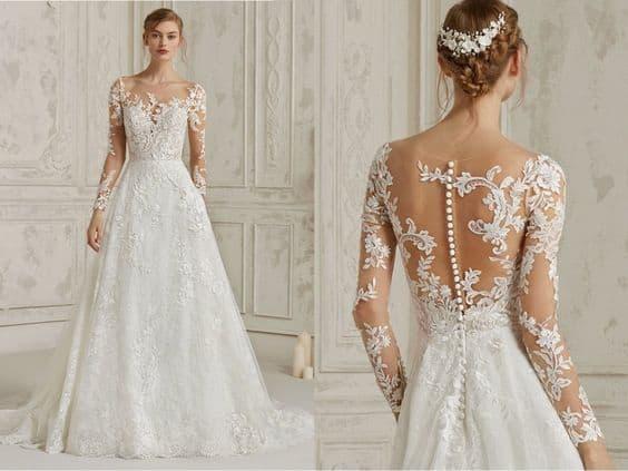Types wedding dress styles