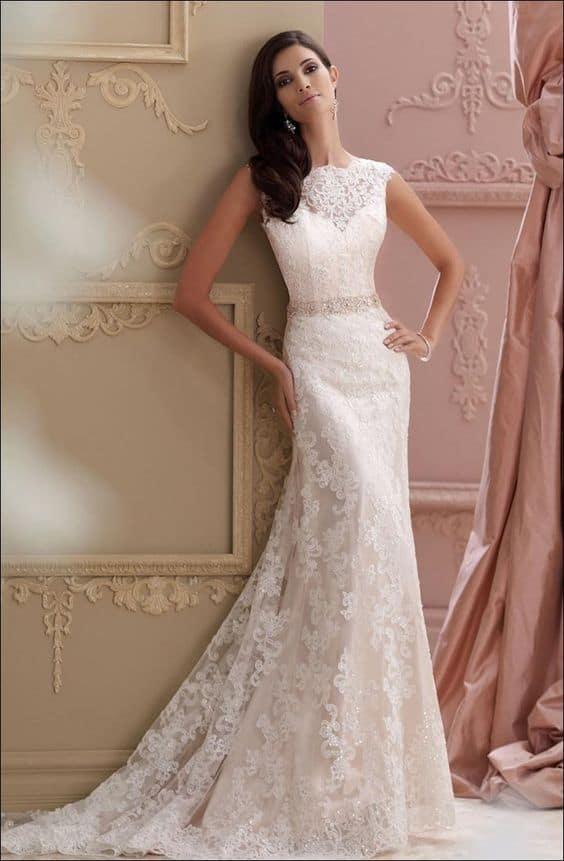 Wedding dress shapes