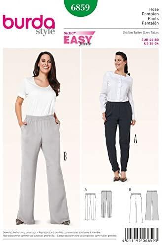 Women's pants sewing patterns