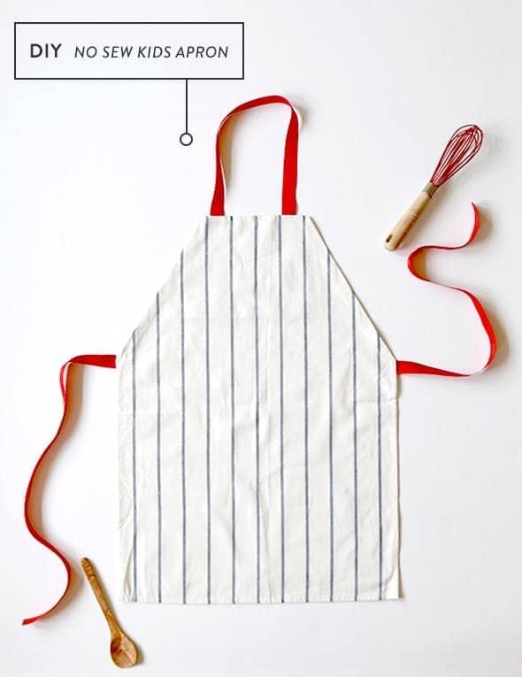 DIY kids apron