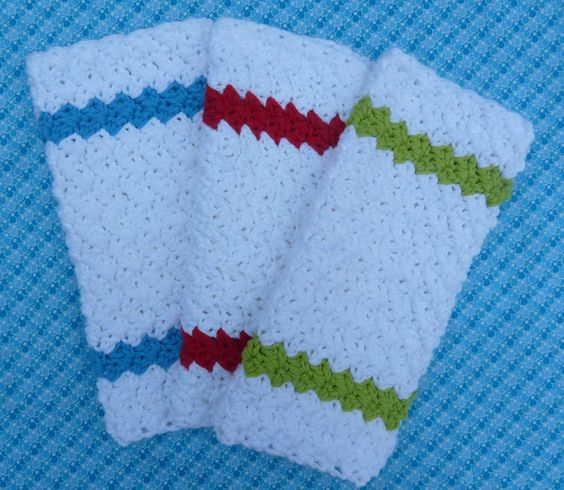 How to knit a dishcloth tutorial