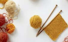 How to knit a rag