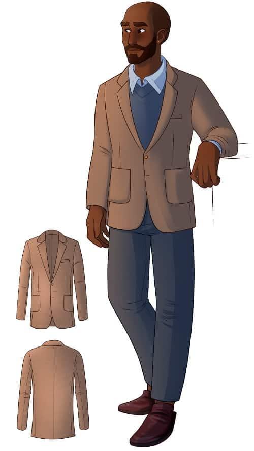 Jaeger jacket sewing pattern