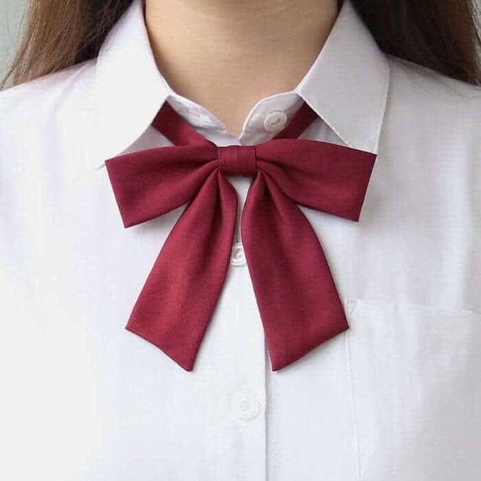 Japanese uniform tie