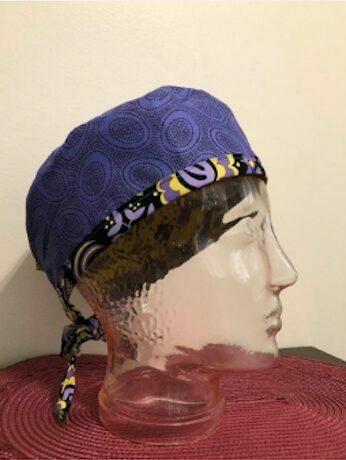 Reversible scrub cap