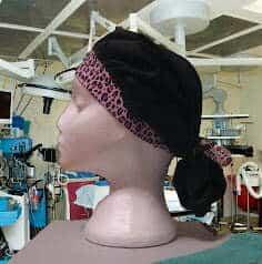 Scrub hat sewing pattern