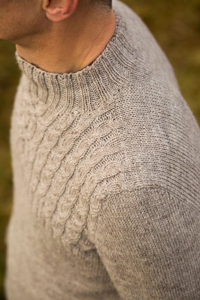 Set in sweater