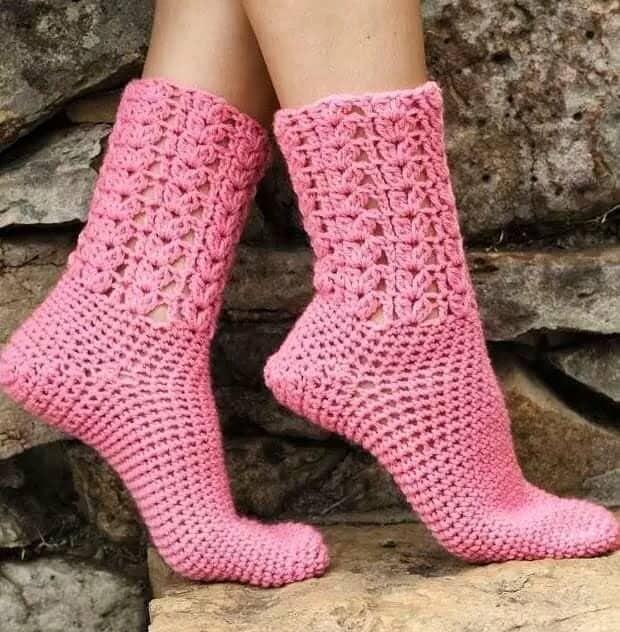 Sock crochet pattern