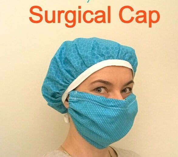 Super easy surgical cap pattern