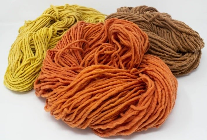 Different types of wool