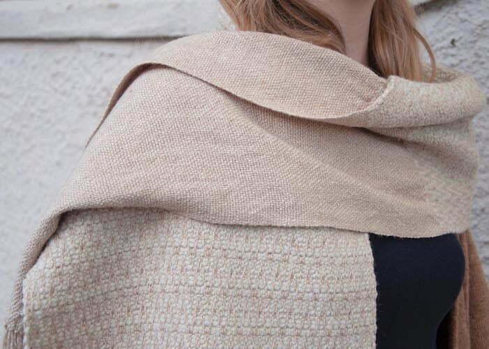 Rosepath twill scarf