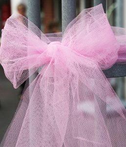 Tulle decorating ribbon