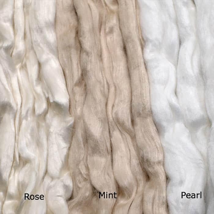 Types of textile fibers